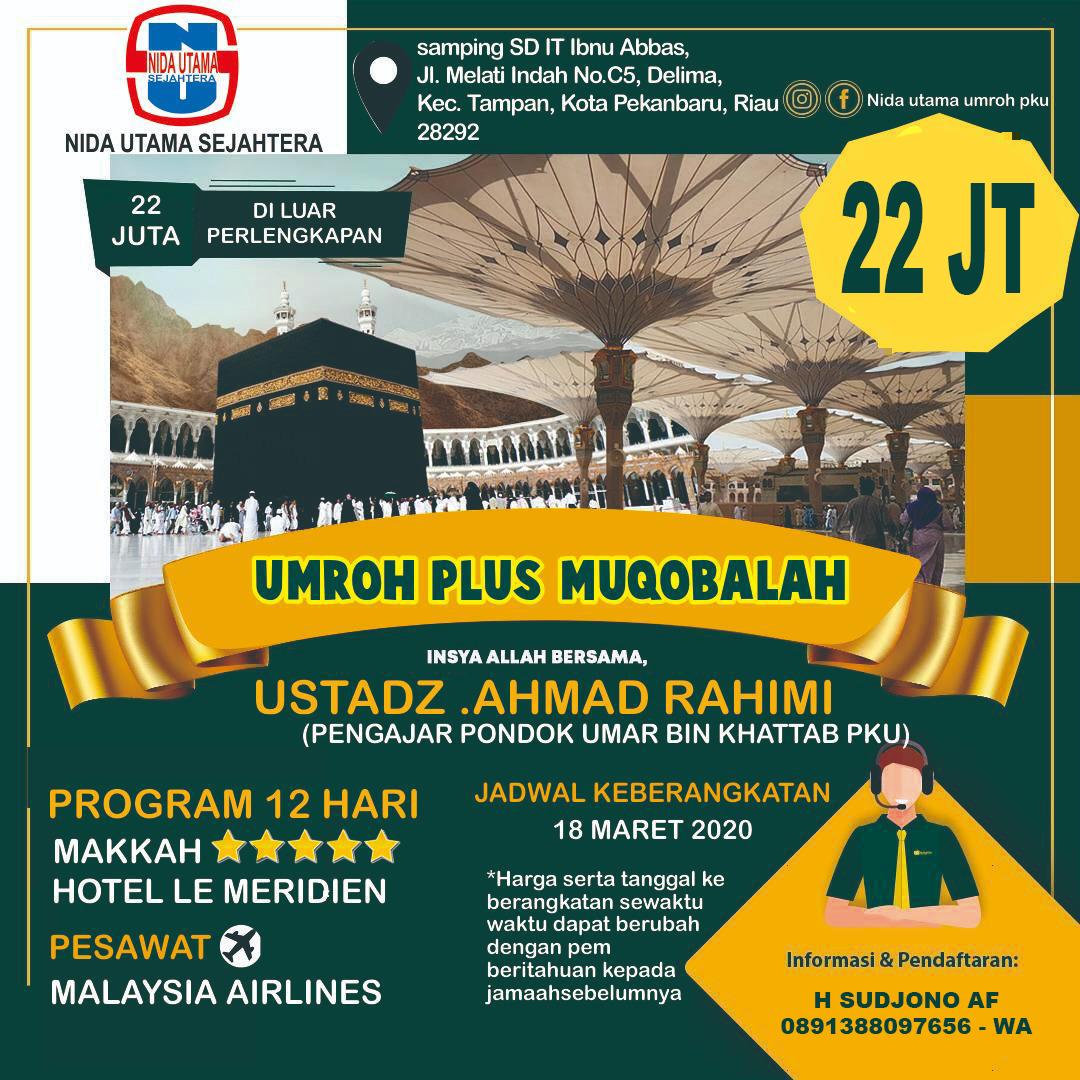 Umroh Plus Muqobalah 18 Maret