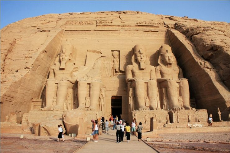 Kuil Patung Ramses II