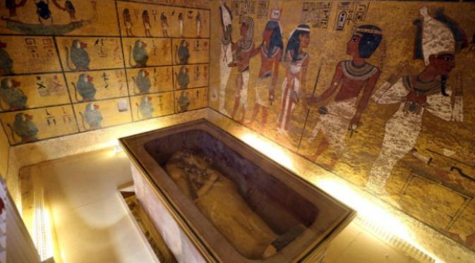 Makam Wakil Raja Tutankhamun Dengan Lukisan Dinding Yang Bersejarah