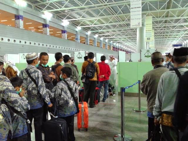 Jamaah umroh murah dan bagus di Bandara Jeddah