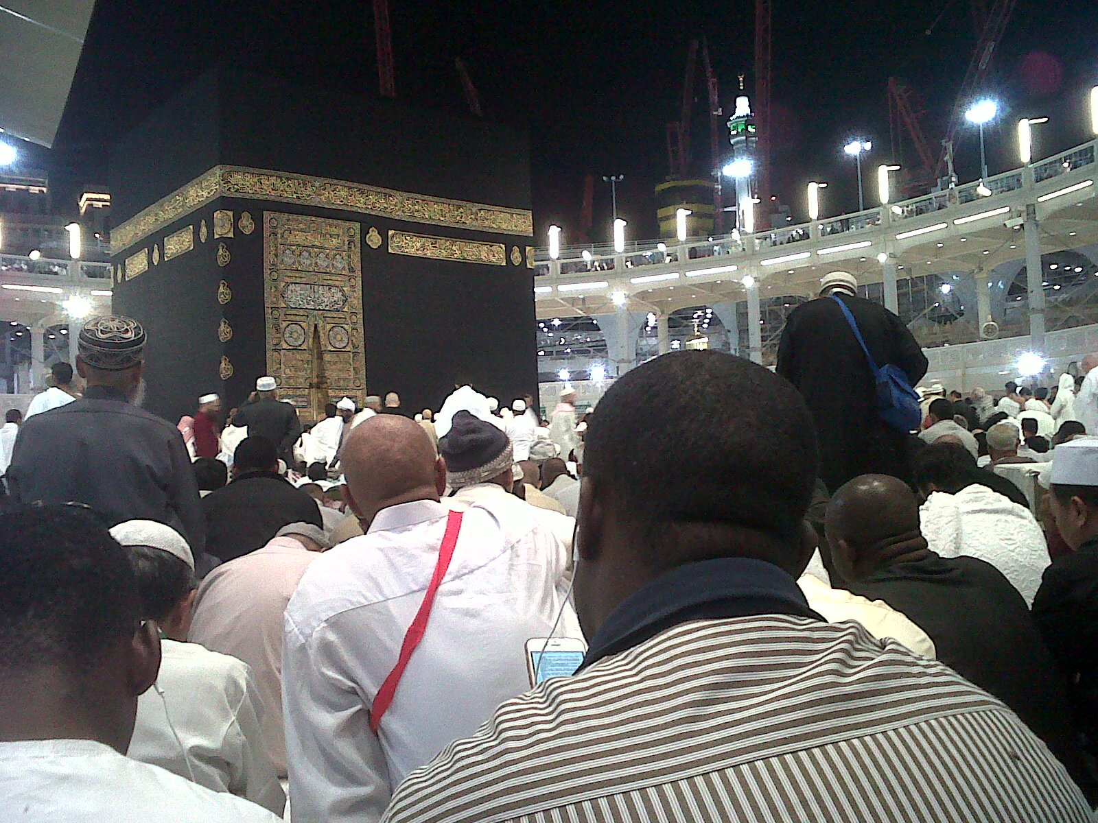 Rukun Yamani KAbah di Masjidil Haram