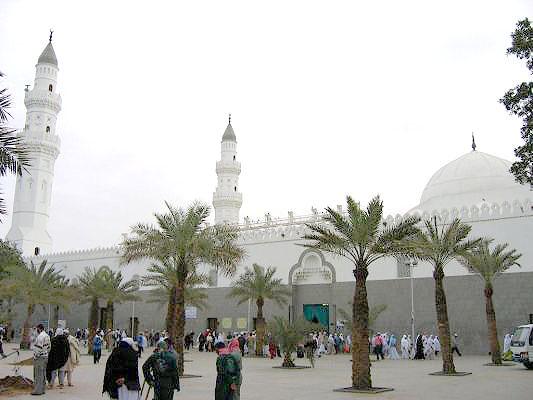 Ziarah Masjid Quba. Masjid pertama yang dibangun Rasulullah di Madinah