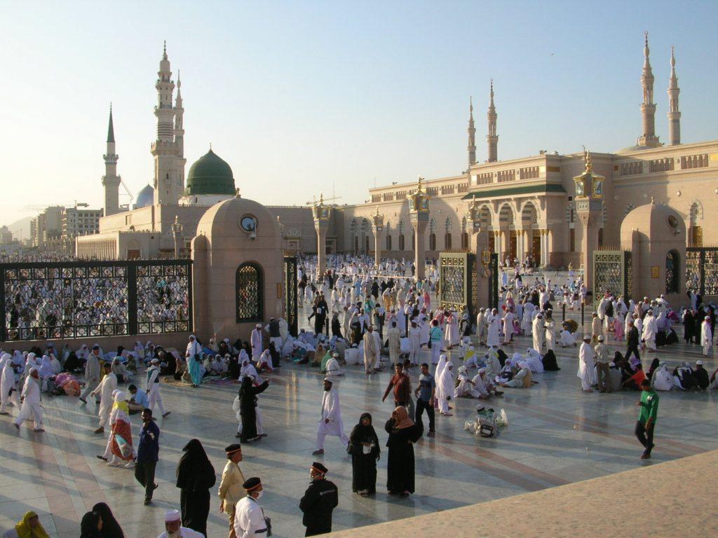 Masjid Nabawi Dari Arah Makam Baqi