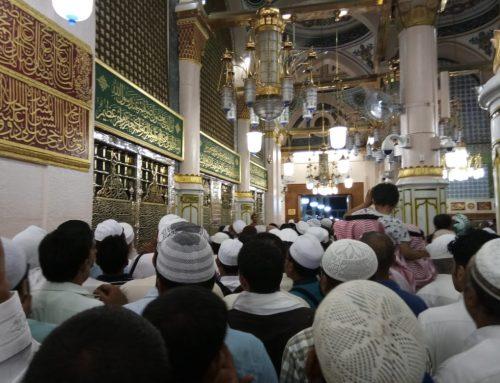Ziarah Ke Makam Rasulullah SAW di Madinah