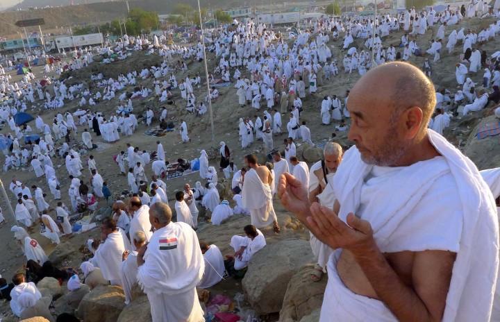 Berdoa khususk saat wukuf di Arafah