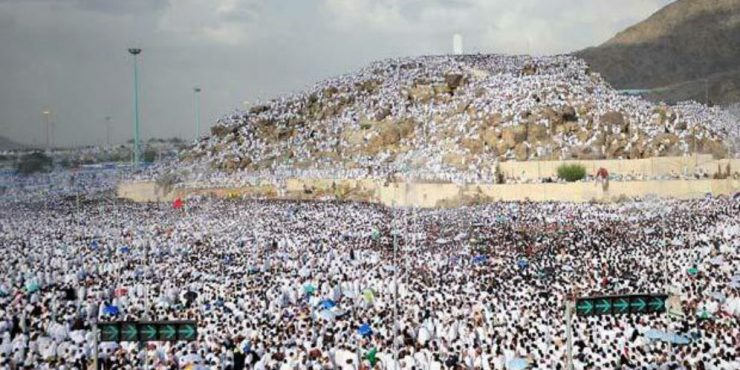 Padang-Arafah-tempat-berkumpulnya-jemaah-haji-seluruh-dunia