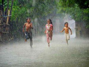 Berobat dengan air-hujan