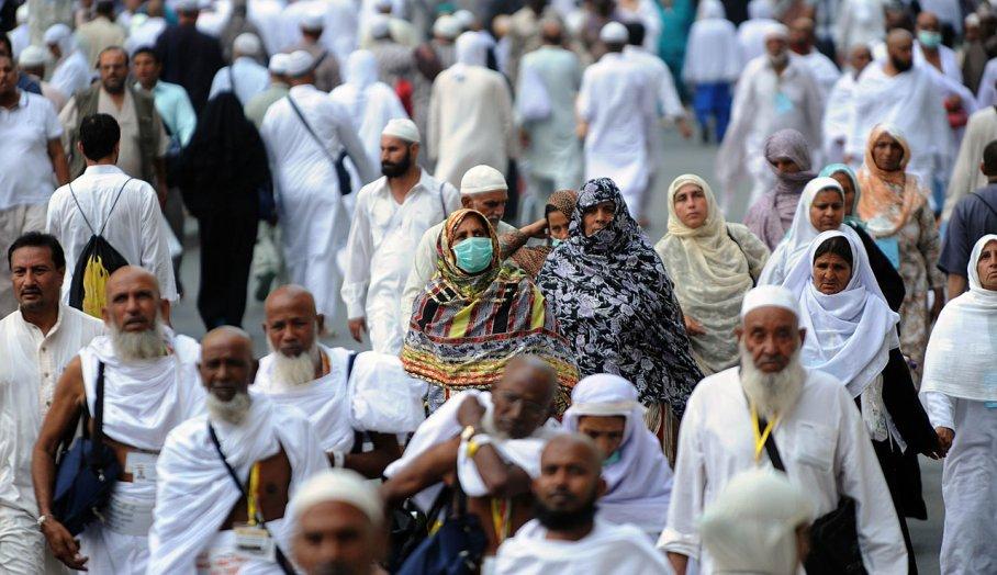 Rincian Kegiatan Jamaah Haji Qiran-AFP PHOTO-FAYEZ NURELDINE