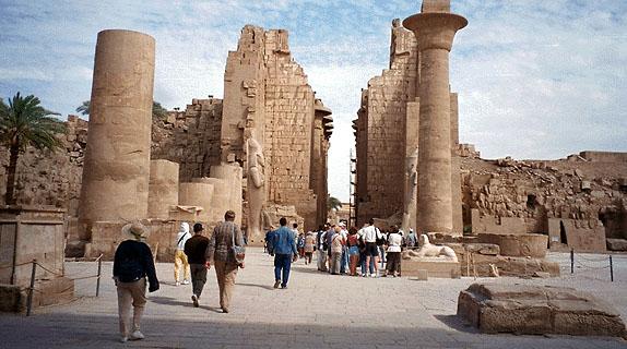Karnak Temple Untuk Theben
