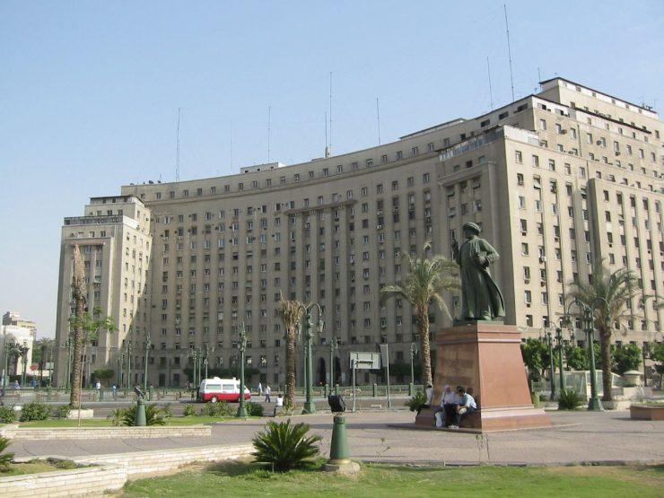 Tahrir Square – Alun alun Kota Cairo