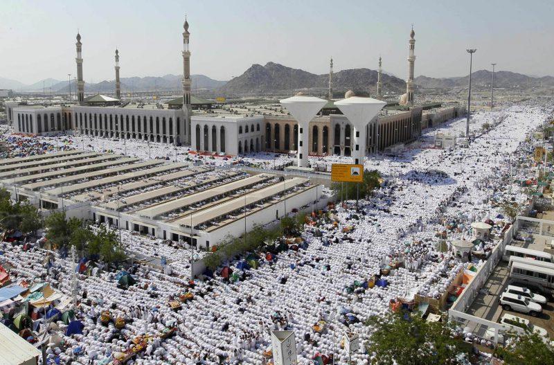 Haji adalah wukuf di Arofah