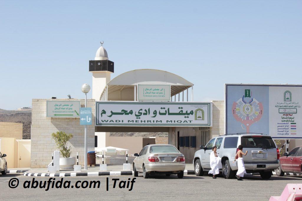 Wadi Mehir Thaif salah satu lokasi miqot umroh