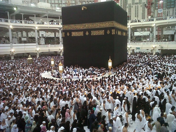 Multazam tempat mustajab berdoa di Tanah Suci